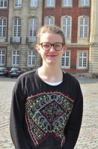 Rebecca Koordinatorin für das Friederike-Fliedner-Haus